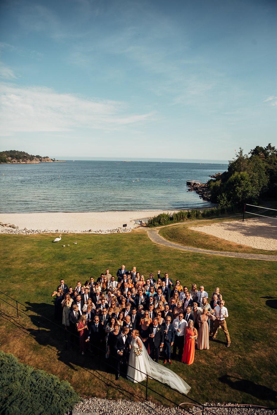 Mette & Lars - eventyrlig sommerbryllup i Grimstad Strand Hotell Fevik Bryllup 19