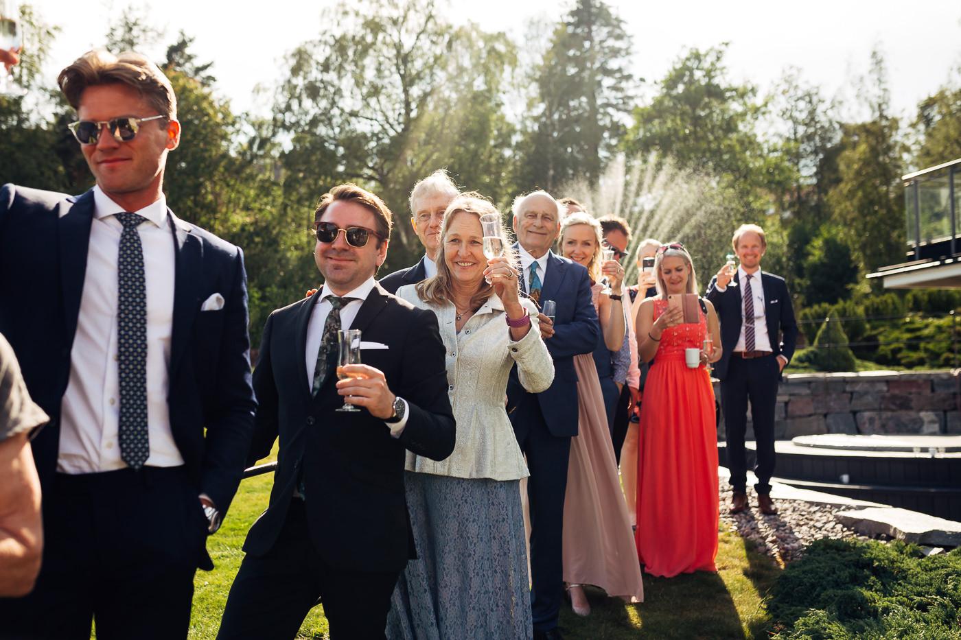 Mette & Lars - eventyrlig sommerbryllup i Grimstad Strand Hotell Fevik Bryllup 20