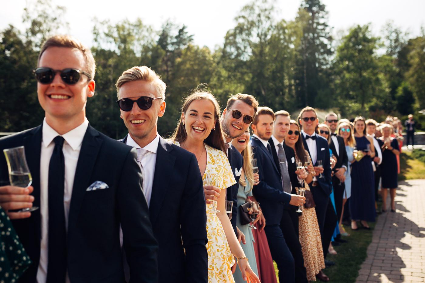 Mette & Lars - eventyrlig sommerbryllup i Grimstad Strand Hotell Fevik Bryllup 21