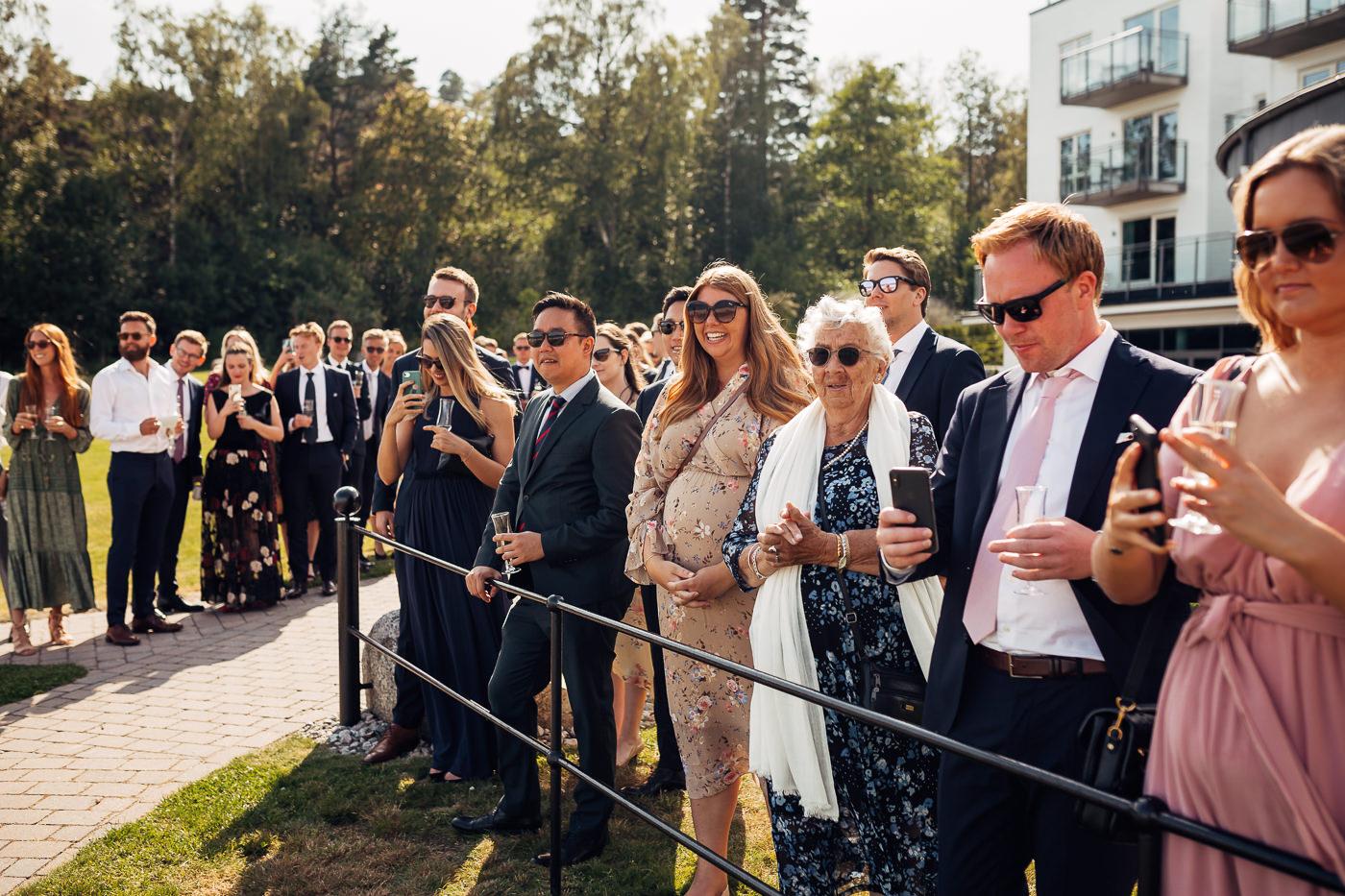 Mette & Lars - eventyrlig sommerbryllup i Grimstad Strand Hotell Fevik Bryllup 22