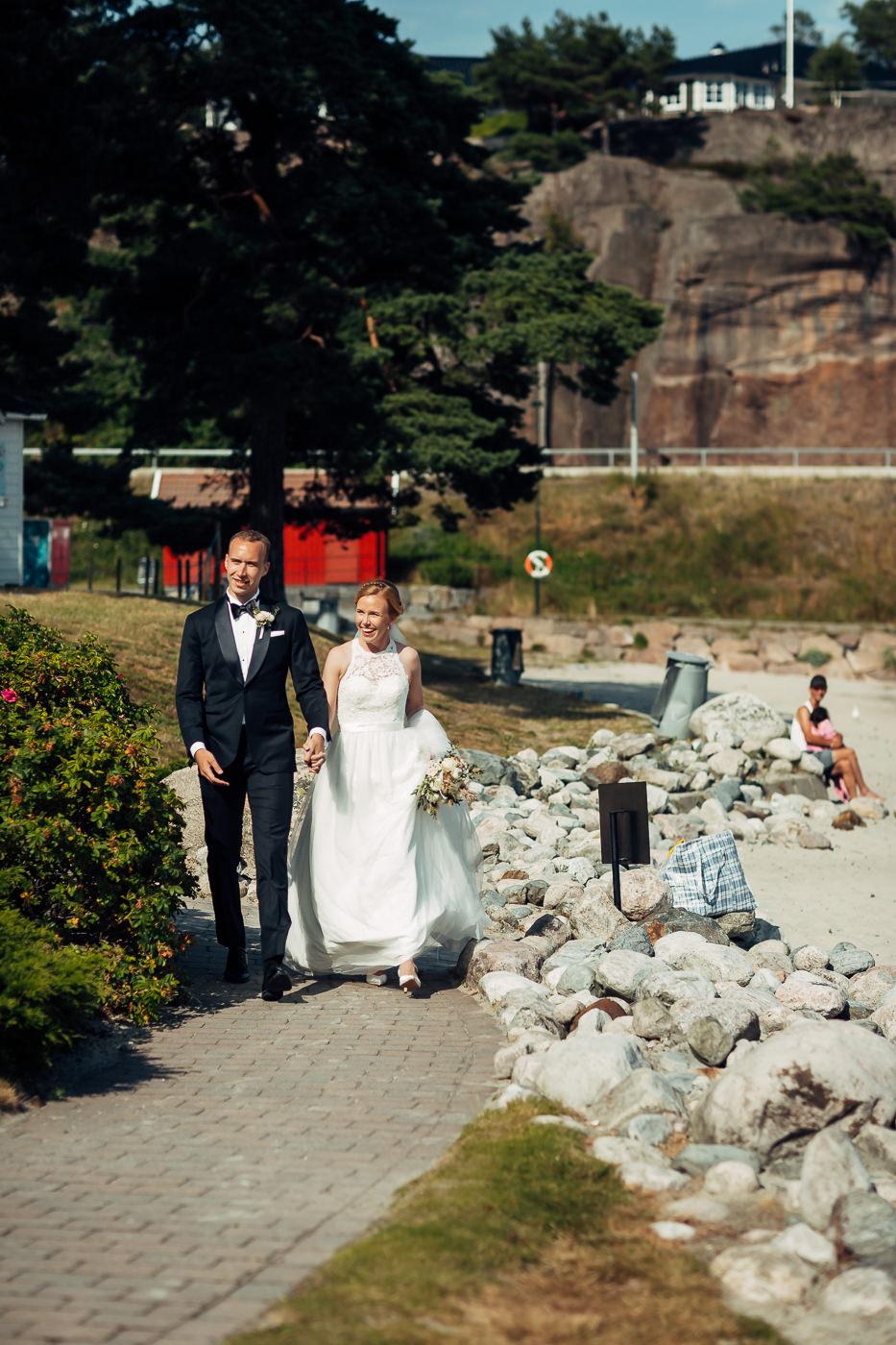 Mette & Lars - eventyrlig sommerbryllup i Grimstad Strand Hotell Fevik Bryllup 23