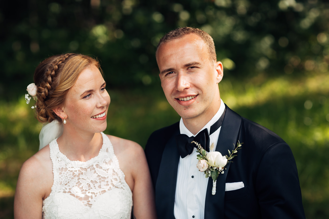 Mette & Lars - eventyrlig sommerbryllup i Grimstad Strand Hotell Fevik Bryllup 31