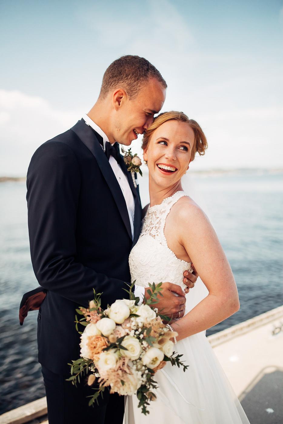 Mette & Lars - eventyrlig sommerbryllup i Grimstad Strand Hotell Fevik Bryllup 34
