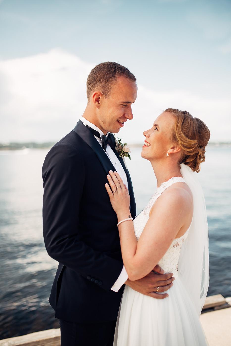 Mette & Lars - eventyrlig sommerbryllup i Grimstad Strand Hotell Fevik Bryllup 35