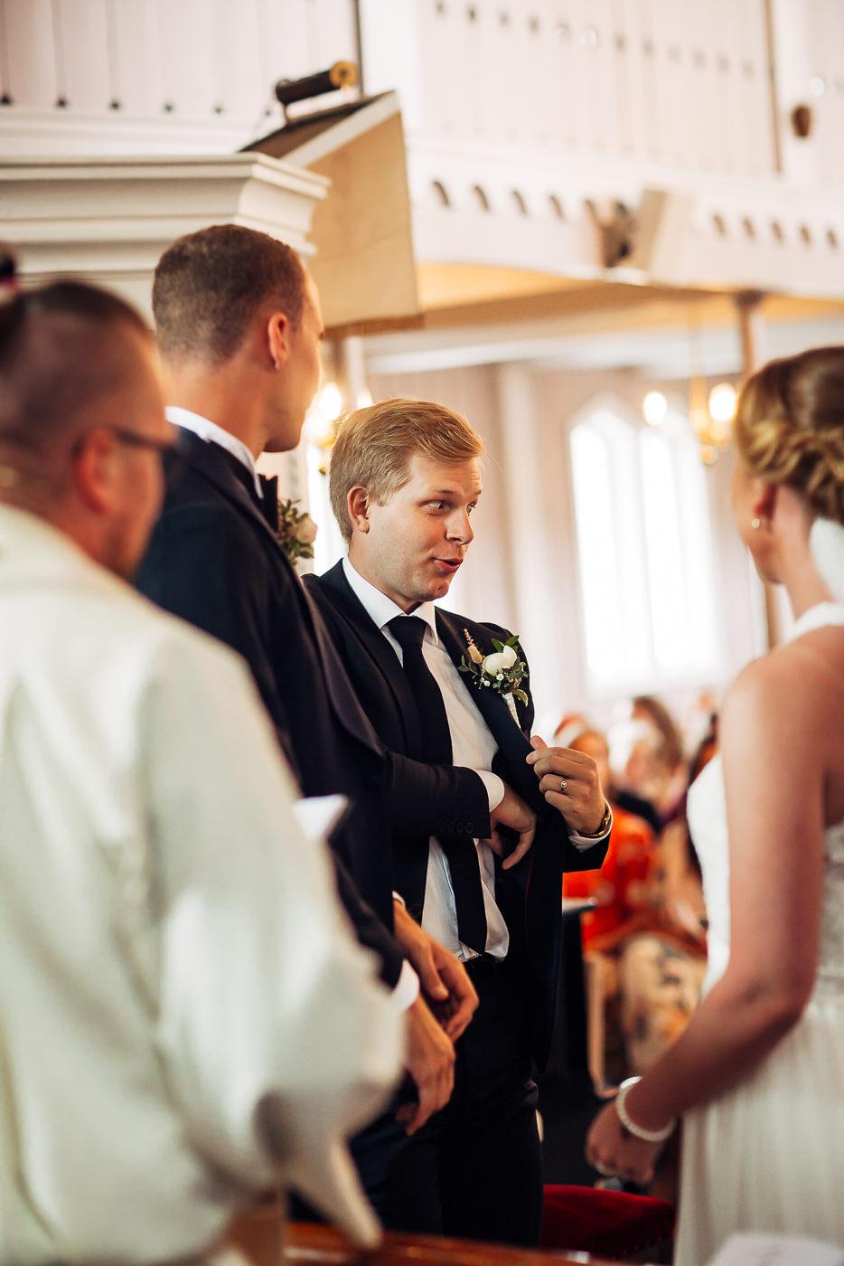 Mette & Lars - eventyrlig sommerbryllup i Grimstad Strand Hotell Fevik Bryllup 46