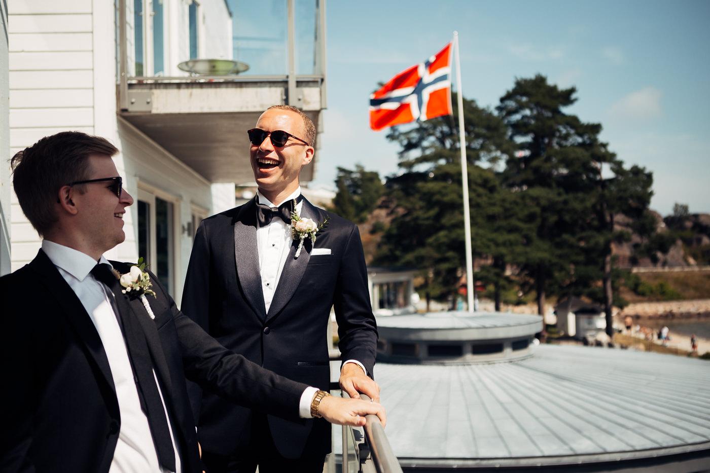 Mette & Lars - eventyrlig sommerbryllup i Grimstad Strand Hotell Fevik Bryllup 61