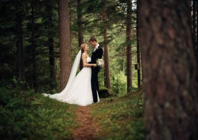 En bryllupsdag Vestre kjernes hver gang vi motes bryllup 3