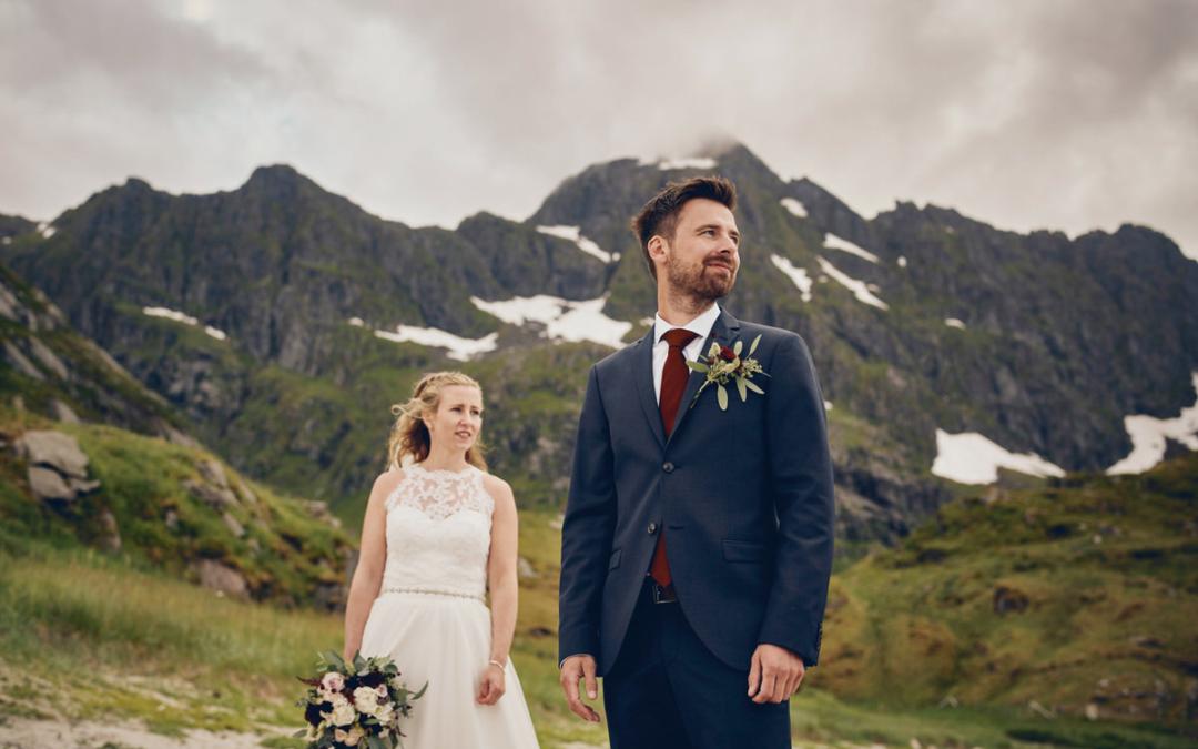 Bryllup på Bjørnsand i Lofoten